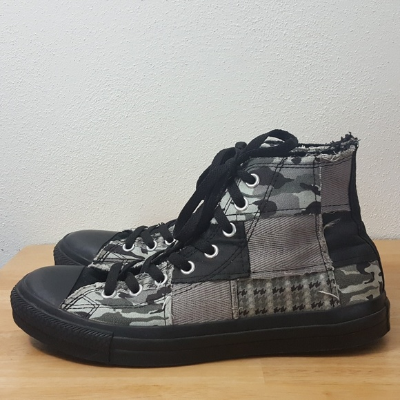 be591570f17c Converse Other - Converse All Stars Hi-Tops Mixed Patchwork Mens 9